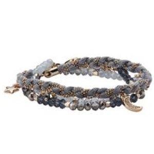 C+I Starry Night Wrap Bracelet